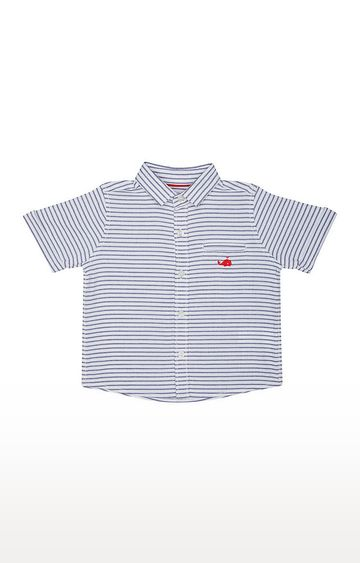 Mothercare | White Striped Shirt