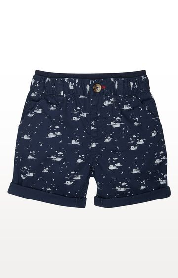 Mothercare | Navy Sailing Boat Shorts