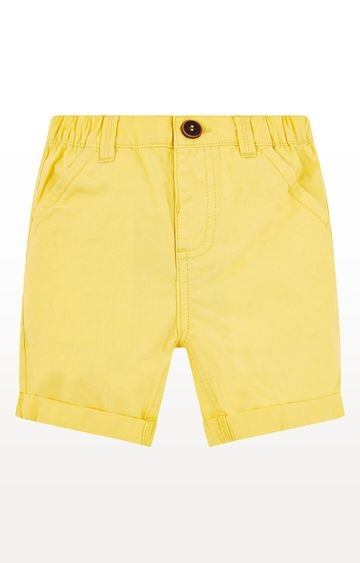 Mothercare   Yellow Twill Shorts