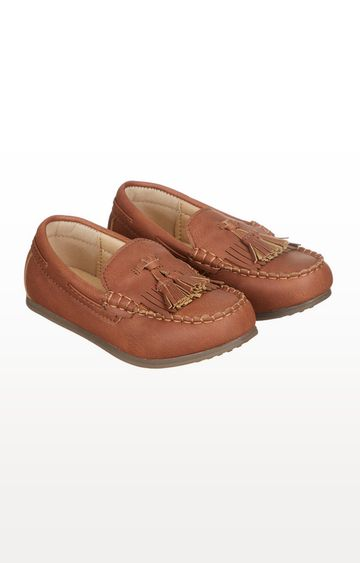 Mothercare | Tan Tassel Loafers