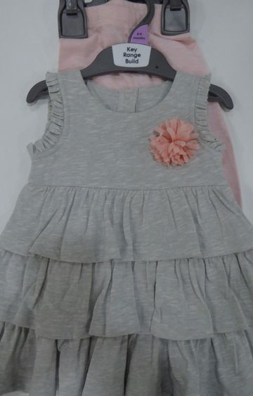 Mothercare   Grey Melange Twin Set