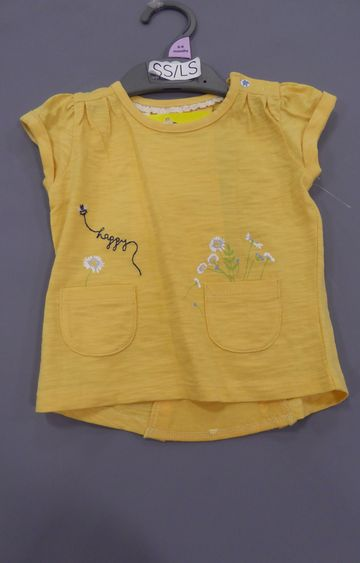 Mothercare | Yellow Melange Top