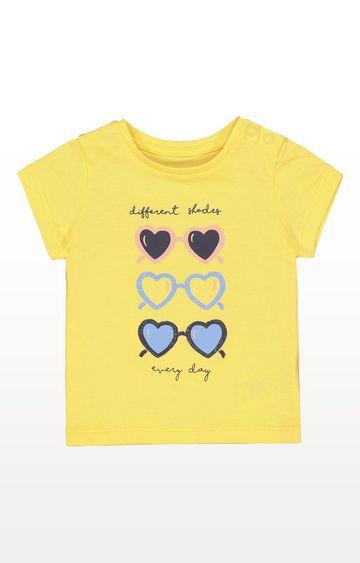 Mothercare | Yellow Sunglasses T-Shirt