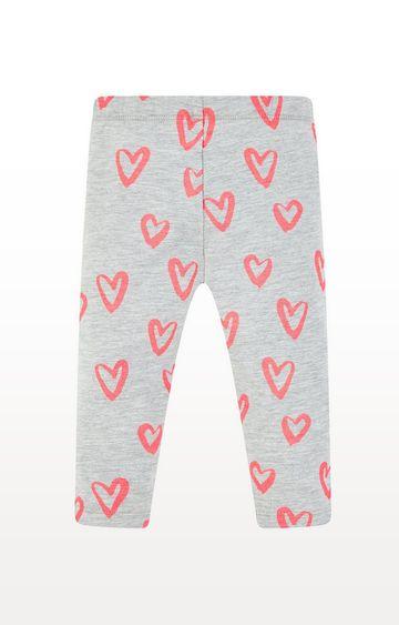 Mothercare | Neon Heart Leggings