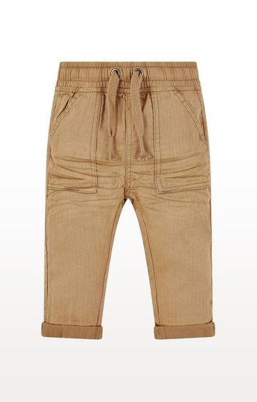 Mothercare | Tan Woven Trousers