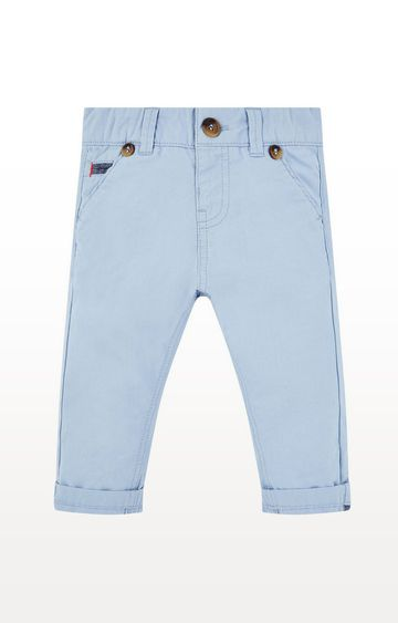Mothercare | Blue Woven Trousers