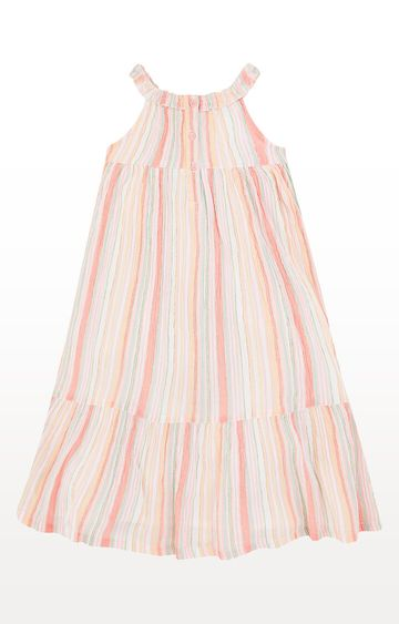 Mothercare | Pink Striped Maxi Dress