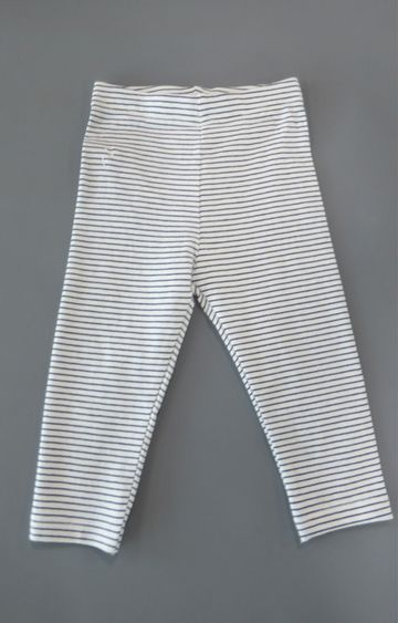 Mothercare   White Striped Trousers