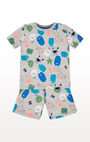 Mothercare | Monster Shortie Pyjamas