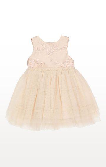 Mothercare   Pink Flower Twofer Dress