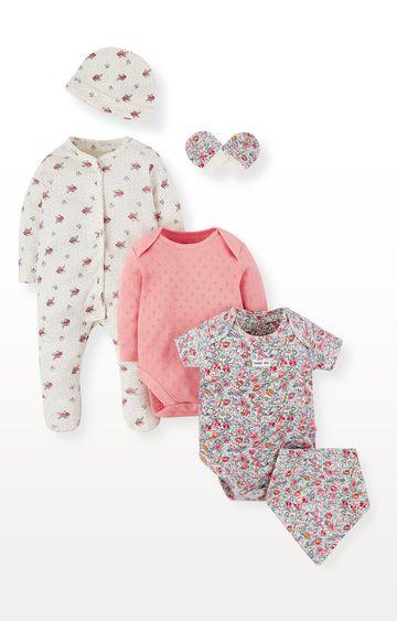 Mothercare   Floral Six-Piece Set
