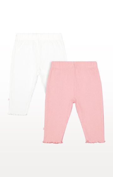 Mothercare | Ribbed Leggings - Pack of 2
