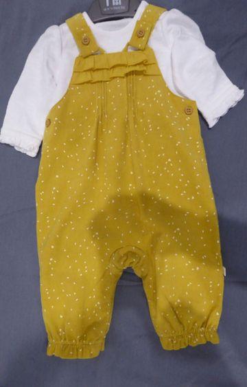 Mothercare | Yellow Printed Twin Set