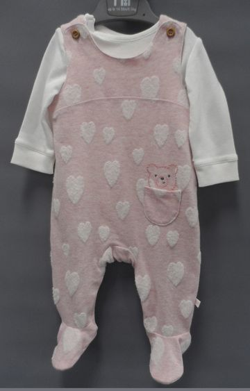 Mothercare | Pink Solid Twin Set