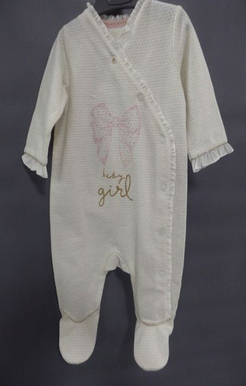 Mothercare | White Solid Romper