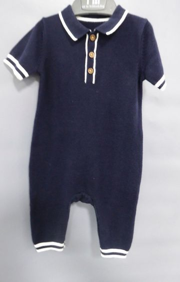Mothercare | Navy Solid Romper