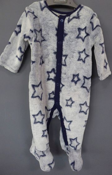 Mothercare | Blue Printed Romper