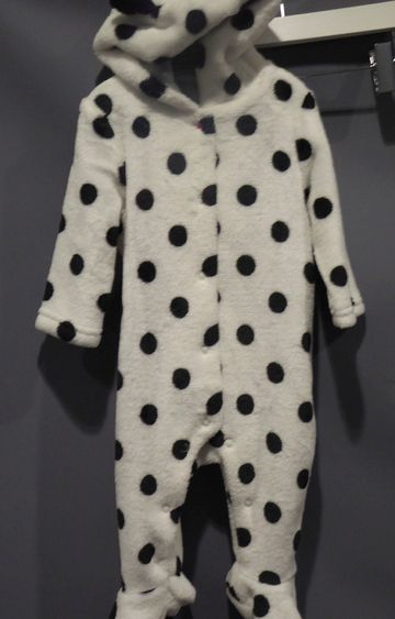 Mothercare | Black and White Printed Romper