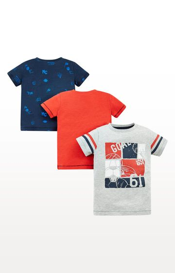 Mothercare | Football T-Shirts - Pack of 3
