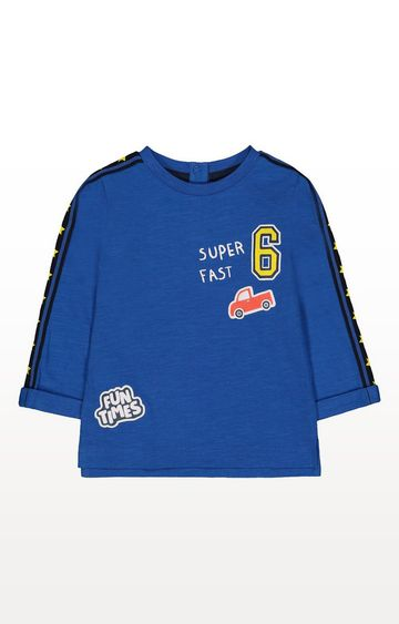 Mothercare | Blue Super Fast Car T-Shirt