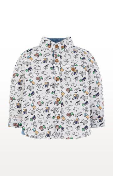 Mothercare | Multicolour Vehicle Shirt