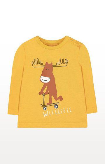 Mothercare | Mustard Moose T-Shirt
