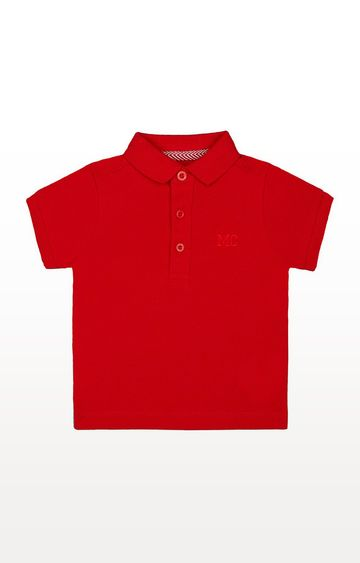 Mothercare | Red Polo Shirt