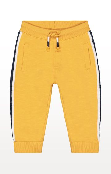 Mothercare | Yellow Side Stripe Joggers