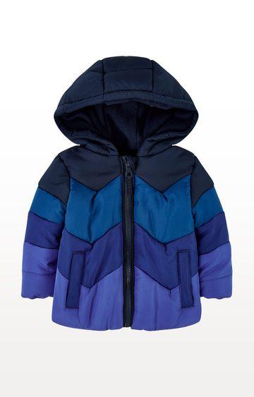 Mothercare | Blue Padded Jacket