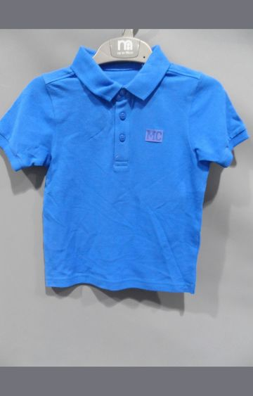 Mothercare | Blue Solid T-Shirt