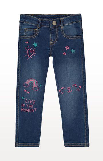 Mothercare | Doodle Cat Jeans