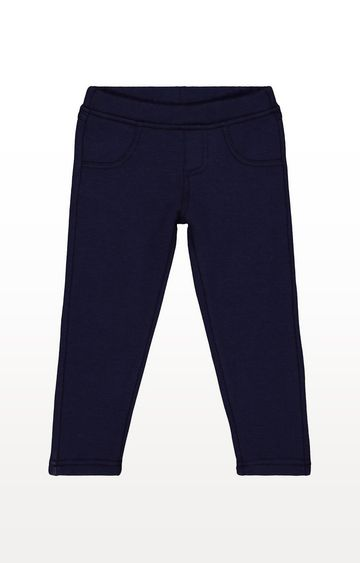 Mothercare | Blue Bonded Jeggings
