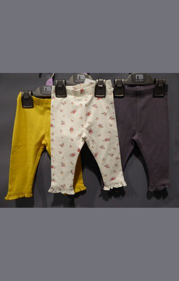 Mothercare | Multicoloured Printed Casual Pants (Pack of 3)