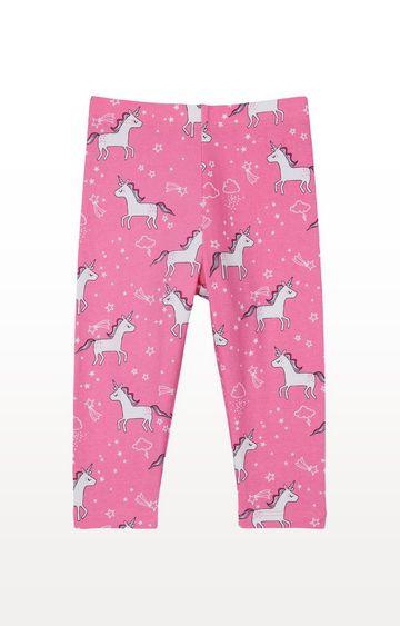 Mothercare | Pink Unicorn Leggings