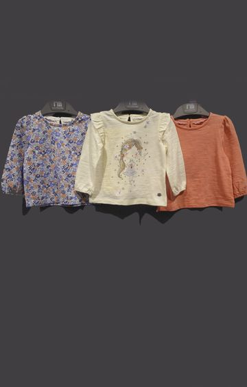 Mothercare | Multicoloured Printed Top - Pack of 3