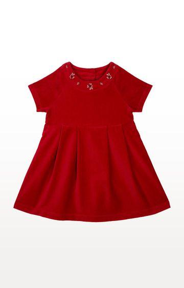 Mothercare | Red Velvet Dress
