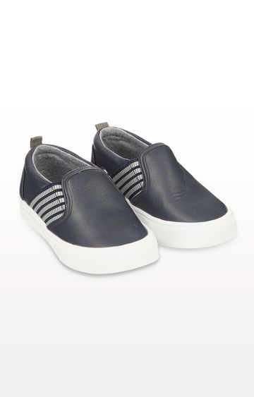 Mothercare | Navy Slip-On Shoes
