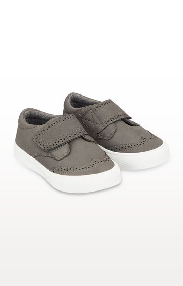 Mothercare | Grey Casual Brogue Shoes