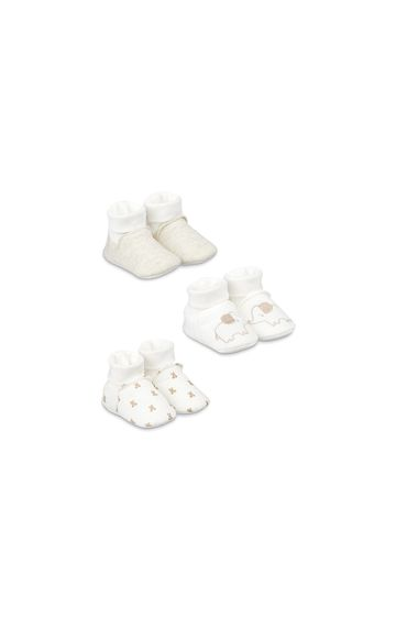 Mothercare | Pink Printed Booties
