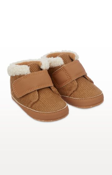 Mothercare | Tan Cord Pram Shoes