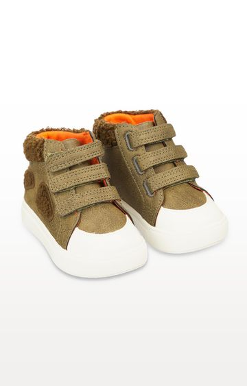 Mothercare | First Walker Dino Hi-Top Trainers