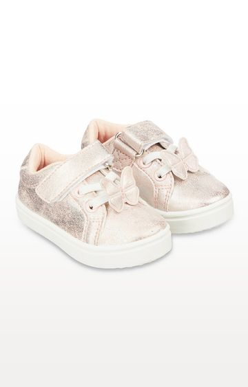 Mothercare | First Walker Pink Butterfly Trainers