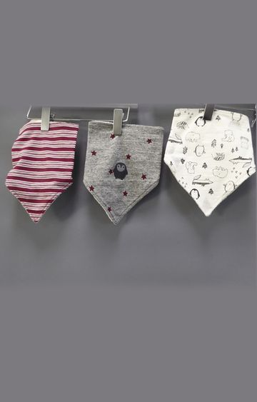 Mothercare | Multicolour Feeding Bib - Pack of 3