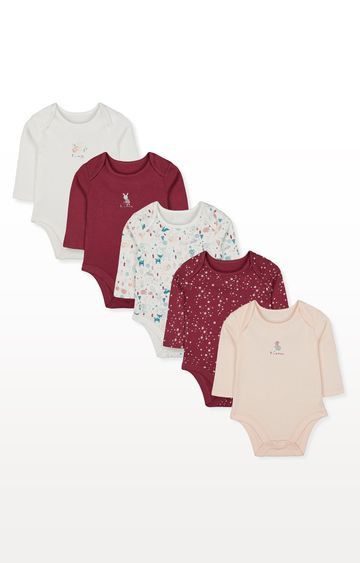 Mothercare | Winter Woodland Bodysuits - Pack of 5