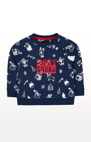 Mothercare | Festive Santa Squad Sweat Top