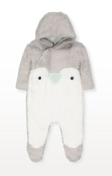 Mothercare | Penguin Fluffy All In One
