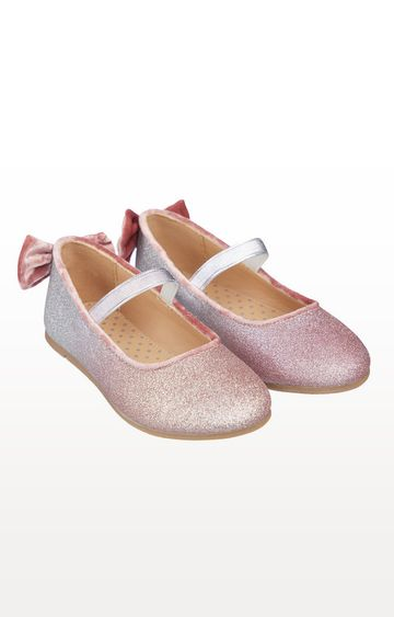 Mothercare | Ombre Glitter Ballerina Shoes