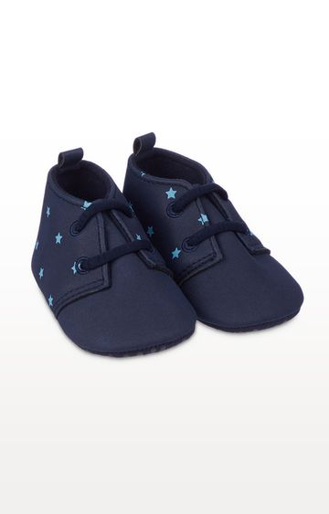 Mothercare   Navy Star Pram Shoes