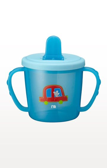 Mothercare | Blue First Cup Flip Top