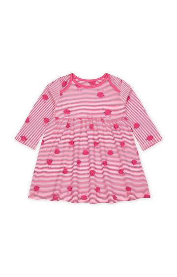 Mothercare   Pink Striped Dress